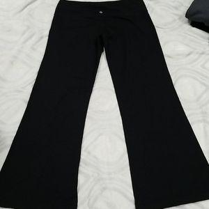 Lululemon vintage wide leg athletic pants 10
